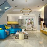 Thiết kế nội thất biệt thự Melosa Garden đẹp hấp dẫn