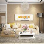 Thiết kế nội thất căn hộ chung cư Opal Garden đẹp và tiện nghi